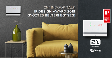 IF DESIGN AWARD győztes lett a 2N Indoor Talk