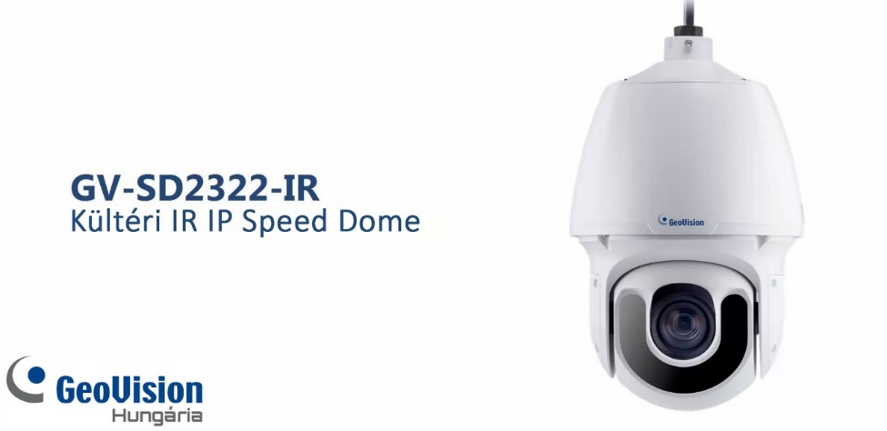 GeoVision GV SD2322-IR Speed Dome kamera